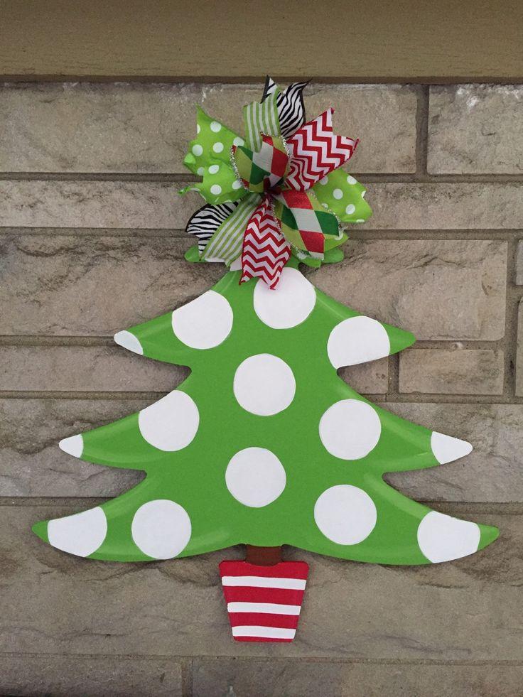 ... 55 Best Christmas Tree Door Hangers Images On Pinterest   Healthcare  Door Hanger ...