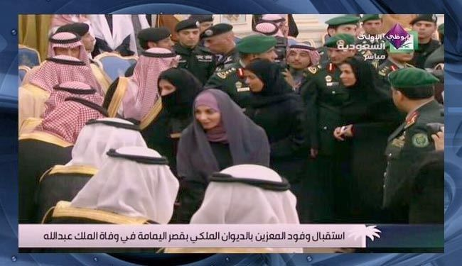 Members of the Saudi Shura Council, including 30 women for the first time in history, were sworn in Tuesday in the presence of King Abdullah bin Abdul Aziz.