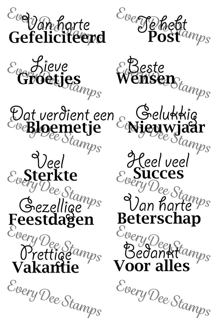 EveryDee Stamps - Van Alles Wat http://www.bijomadee.nl/c-2880767/everydee-stamps/