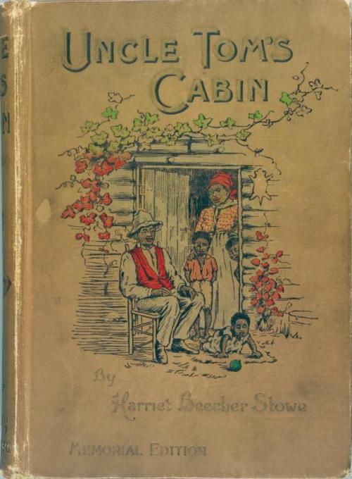 """Uncle Tom's Cabin : A Tale of Life Among the Lowly (1897). Harriet Beecher Stowe (1811-1896). First released 1851-1852. Stowe, a teacher and an active abolitionist, featured the character of Uncle Tom, a long-suffering black slave. Depicts the reality of slavery while asserting that Christian love can overcome something so destructive. """"Witness, eternal God! Oh, witness, that, from this hour, I will do what one man can to drive out this curse of slavery from my land!"""" (Stowe, Uncle Tom's…"""