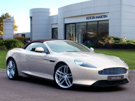 Used 2013 ( reg) Silver Blonde Aston Martin DB9 5.9 V12 for sale on RAC Cars