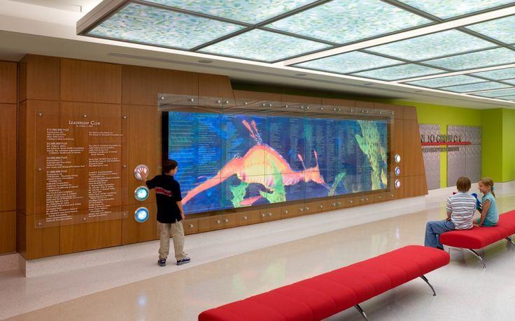 Children's Healthcare of Atlanta - Stanley Beaman & Sears: interior design, environmental graphics, pediatric, healthcare, children's, hospital