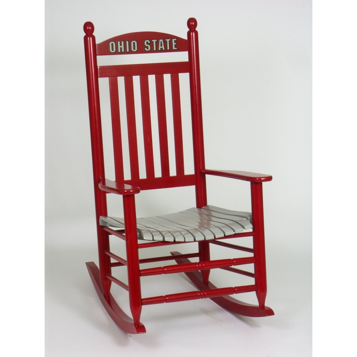 OHIO STATE ROCKING CHAIR - Indoor Rocking Chairs at Rocking Chairs ...