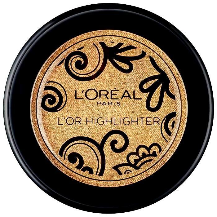"""Το συλλεκτικό highlighter L'Or από τη L'Oreal Paris έρχεται για να δώσει τη λάμψη του χρυσού στα ζυγωματικά σας! Από την exclusive συλλογή """"L'Oreal Gold Obsession"""", η πουδρένια σύστασή του highlighter μετατρέπεται σε κρεμώδη με την εφαρμογή, αφήνοντας μία υπέροχα βελούδινη αίσθηση στο δέρμα σα"""