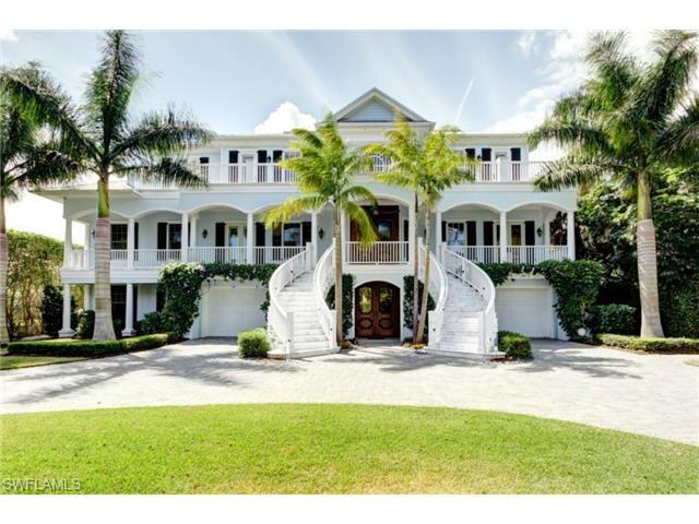 Three story beach house with wrap around porch and winding for Beach house with wrap around porch