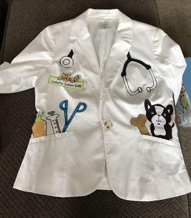 diy kids vet costume made by me pinterest vet