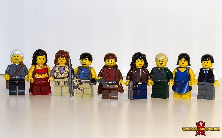 Serenity (Firefly) Character Minifigs: A LEGO® creation by Justin Saber-Scorpion Stebbins : MOCpages.com