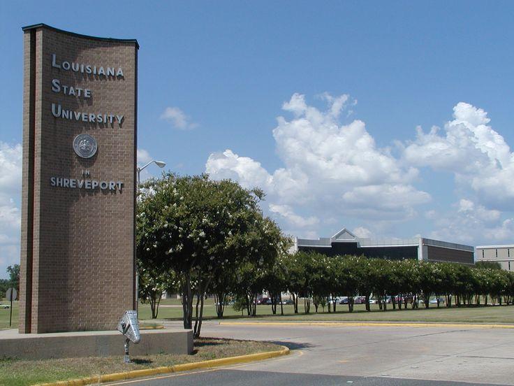 The entrance to LSU Shreveport!
