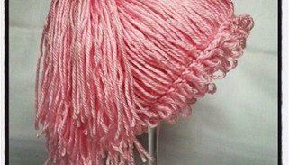 Crochet Newborn Cabbage Patch Kid Ponytail Beanie