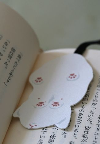 Cat bookmark! Cutest ever!