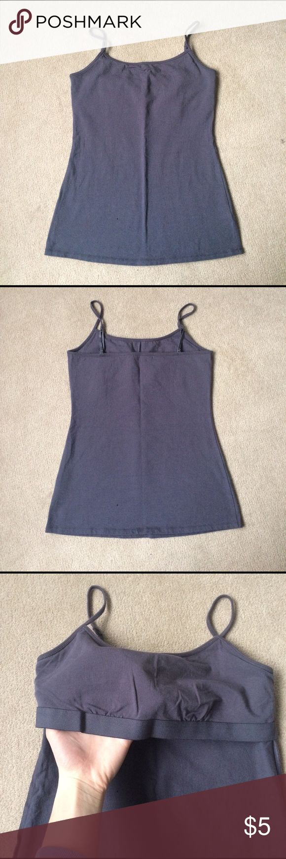 Cami Grey Cami from Maurice's. Never worn. Feel free to make an offer! Maurices Tops Camisoles