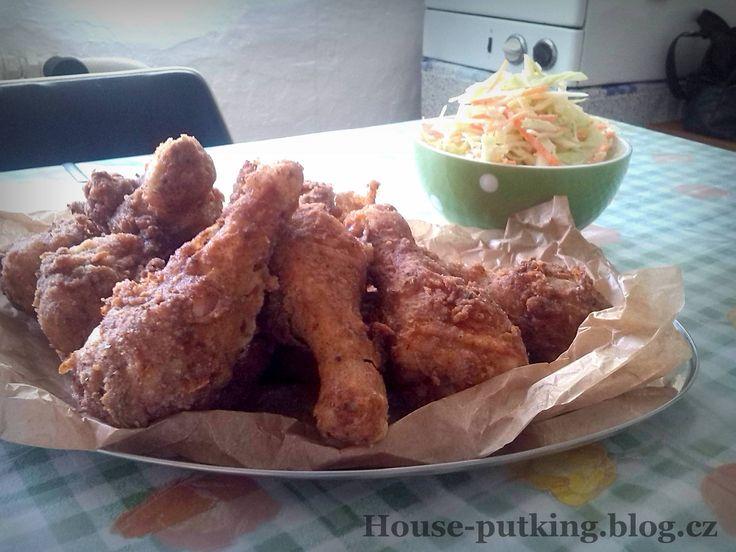 VDP - Smažené kuře a salát coleslaw (31)