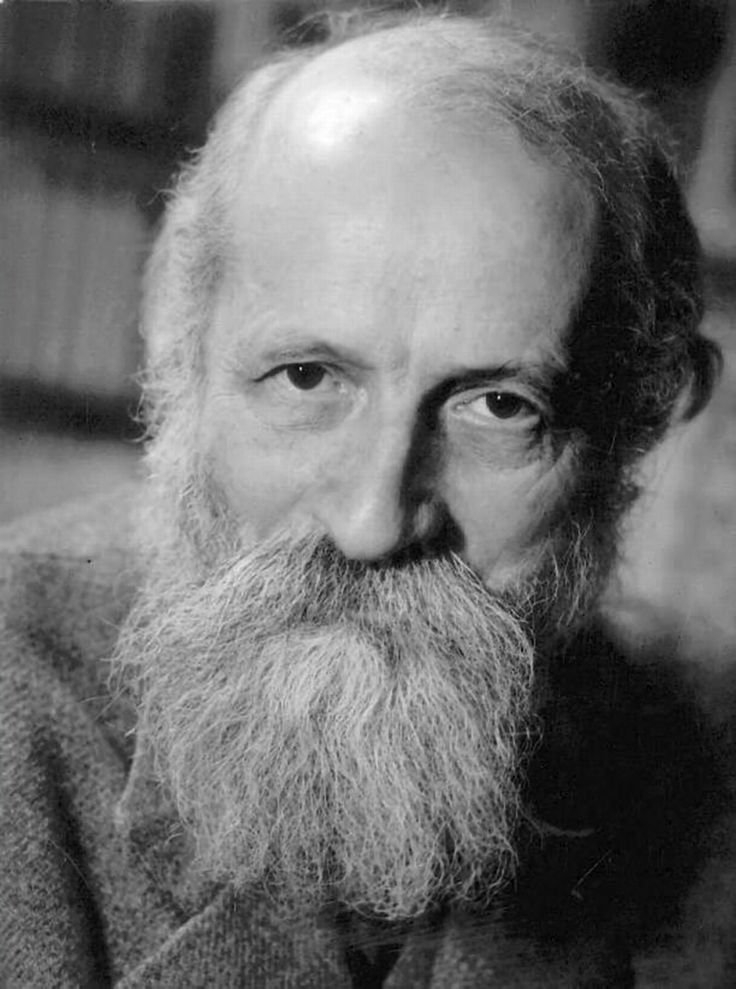 """Martin Buber, 20th century existentialist Jewish philosopher, most famous for his book """"I and Thou"""""""