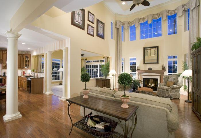 High ceiling living room living room living room - Living room ideas with high ceilings ...