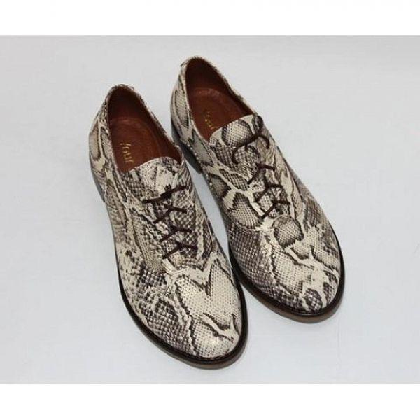 """Обувь Золотисто-коричневые туфли """"оксфорды"""""""