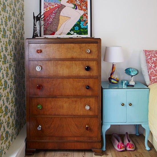 Upcycle furniture | Small bedroom | decorating ideas | bedroom | PHOTO GALLERY | Style at Home | Housetohome
