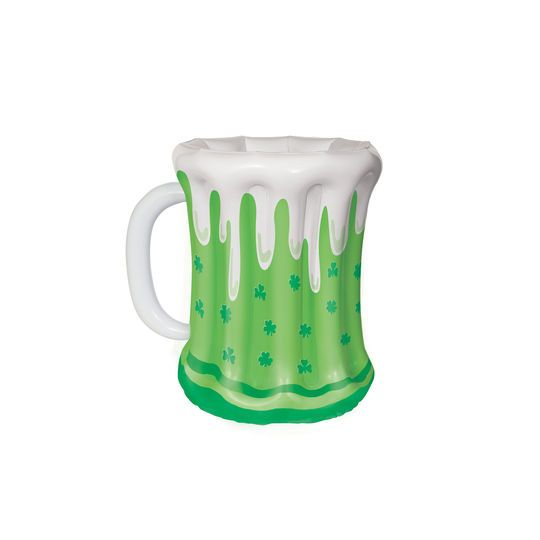 "St. Patrick's Day Beer Mug Inflatable Cooler, 18"""