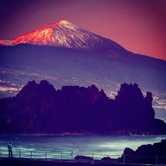 Teide visto desde Tacoronte en Tenerife