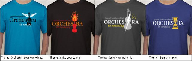 Orchestra tshirt ideas and great promotion tips...