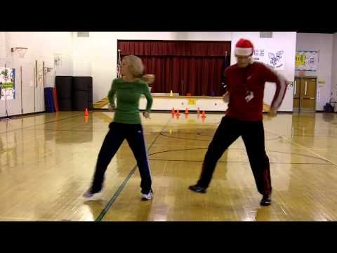Jingle Bell Dance--good Christmas-time get-up-and-move activity