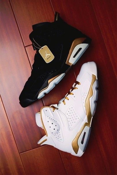 shoes jordans gold black white tumblr shoes sneakers fly dope need ! air jordan gold and