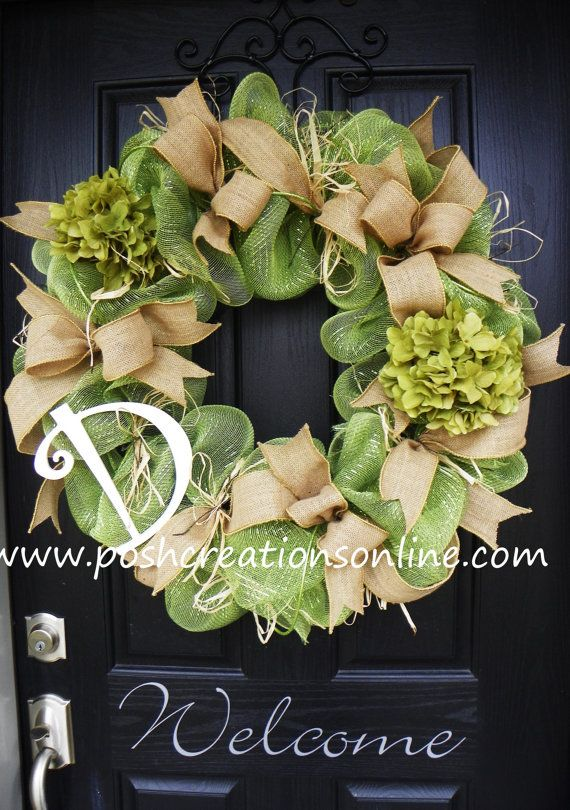 Hey, I found this really awesome Etsy listing at http://www.etsy.com/listing/124805517/spring-burlap-wreath-spring-wreath