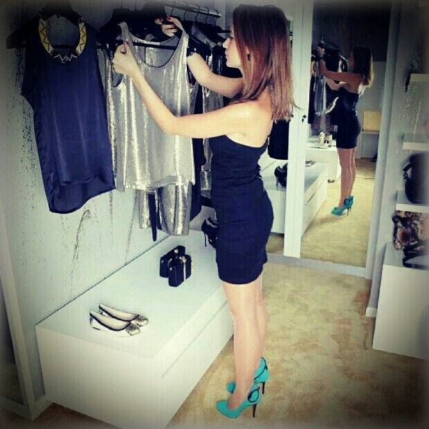 at the boutique