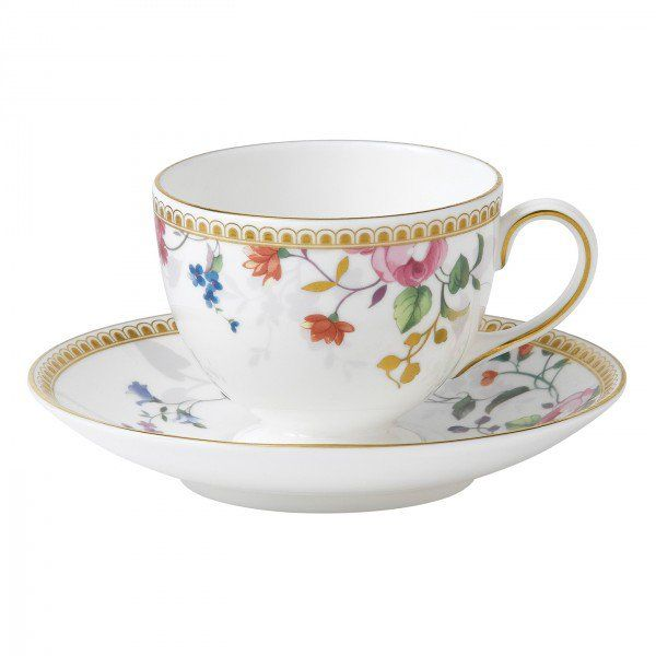 Rose Gold Teacup & Saucer Leigh, Gift Boxed