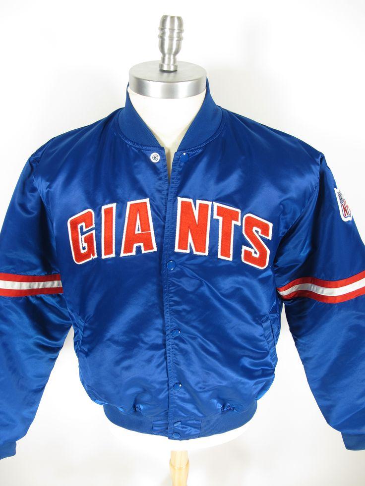9a46a7af0 ... Vintage 80s Starter New York Giants satin jacket. Find more men s and  women s authentic vintage ...