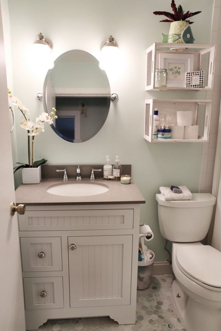 99 Small Master Bathroom Makeover Ideas On A Budget (32)