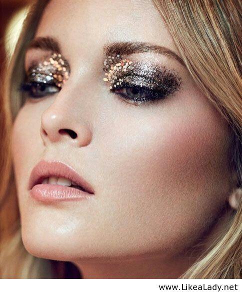 Niesamowity makijaż oczu - Moda