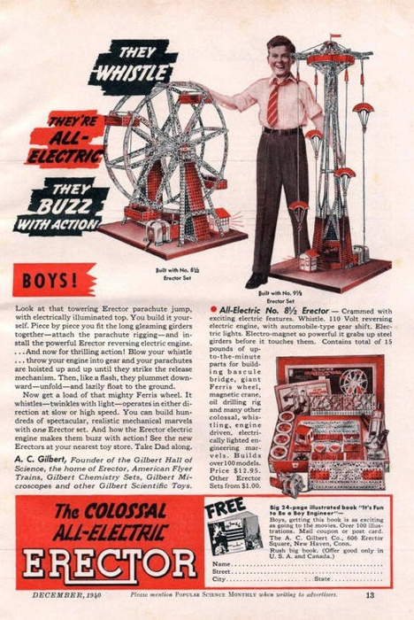 Erector Set 1940