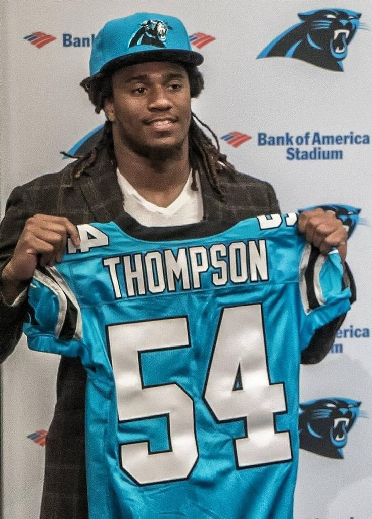 Shaq Thompson to wear #54 for Panthers