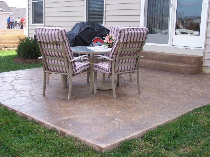 Stamped Concrete Ideas Patios Stamped Concrete Patio Designs Patios Pool  Decks Decortive Concrete Colored Concrete Retaining