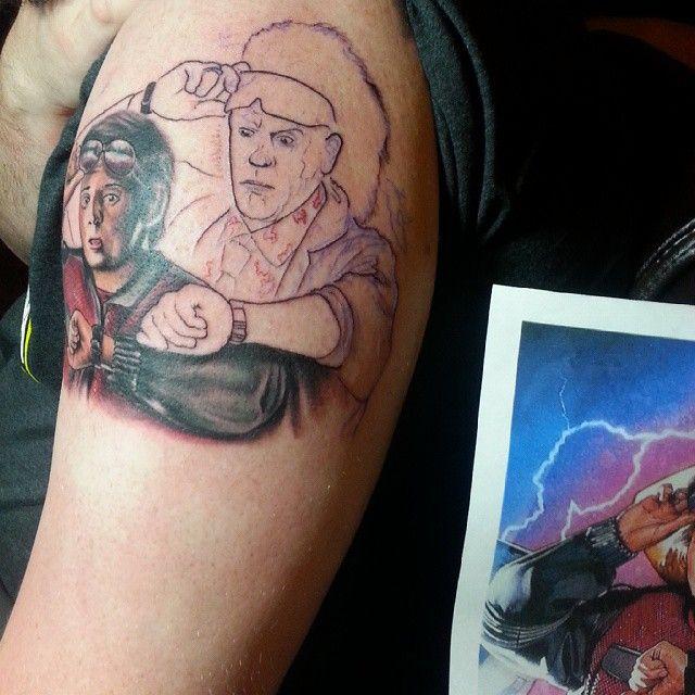 11 best my tattoos images on pinterest the shawshank for John wicks back tattoo