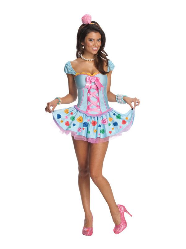 Womens UK Size 16-18 Sweetheart Fancy Dress Katy Perry Costume (Large) #Rubies #CompleteOutfit