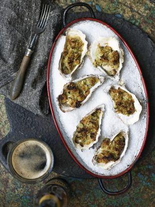 Oysters rockefeller | Jamie Oliver