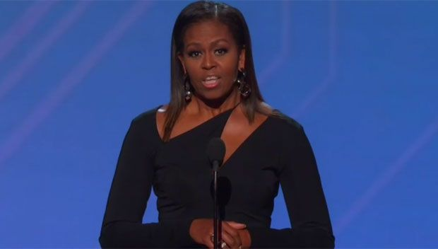 Michelle Obama Honors The Late Eunice Kennedy Shriver With Arthur Ashe Courage Award https://tmbw.news/michelle-obama-honors-the-late-eunice-kennedy-shriver-with-arthur-ashe-courage-award  Special. Michelle Obama, the 44th first lady of the United States of America, honored the late Eunice Kennedy Shriver with the Arthur Ashe Courage Award at the 2017 ESPYS in Los Angeles on July 12th. Keep reading for all the details of this historic moment.Eunice Kennedy Shriver may have passed away in…