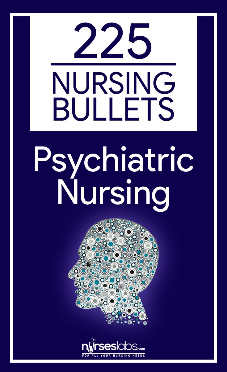 225 Nursing Bullets: Psychiatric Nursing Reviewer - Nurseslabs