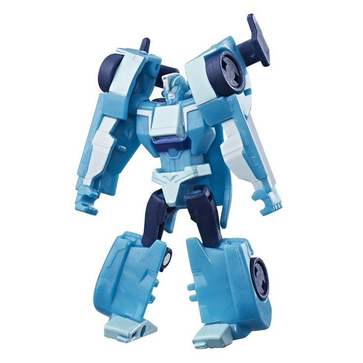 Transformers: Robots in Disguise Combiner Force Legion Class Blurr. Transformers: Robots in Disguise Combiner Force Legion Class Blurr figure. Smaller-scale figure features classic conversion. Changes between robot and sports car in 6 steps. Scan the shield to unlock a token in the app (see below for app details). Figure scale: 3 inches. Includes Blurr figure and instructions.