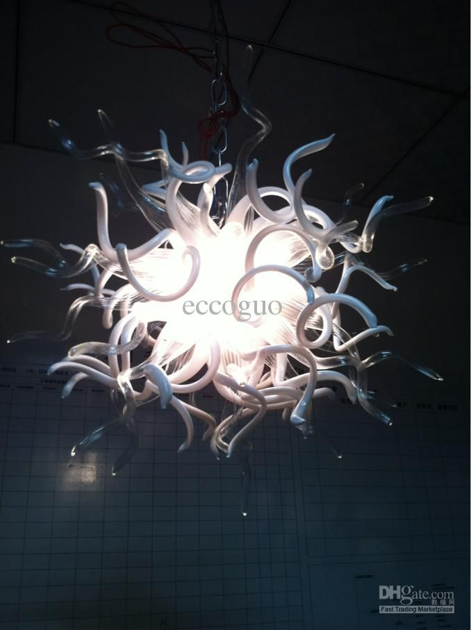 110v 220v Led Lamp Ce Ul Certificate Chihuly Borosilicate Glass Art Contemporary Decor Lighting Unique Chandelier
