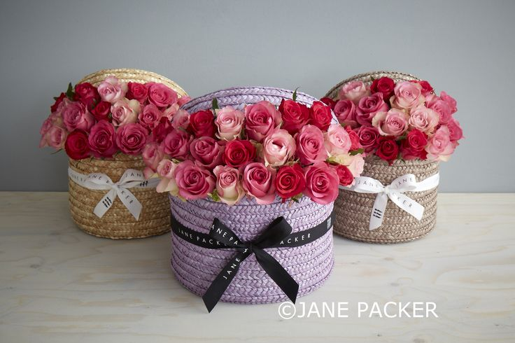 Our Jane Packer hatboxes were designed as a unique arrangement that requires minimal care but provides complete satisfaction. We have seen these grow enormously in popularity and we always receive great feedback on what a delightful item this is. Flowers are arranged in floral foam which only needs to be topped up regularly with water to ensure full life of the blooms.