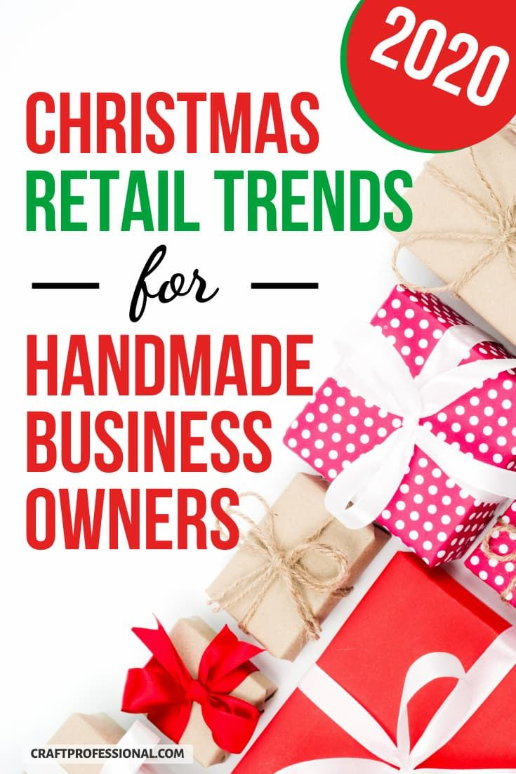 2020 Christmas Shopping Trends Report For Handmade Business Owners Shows You The Newest Holiday Retail Indu In 2020 Holiday Retail Handmade Business Christmas Shopping