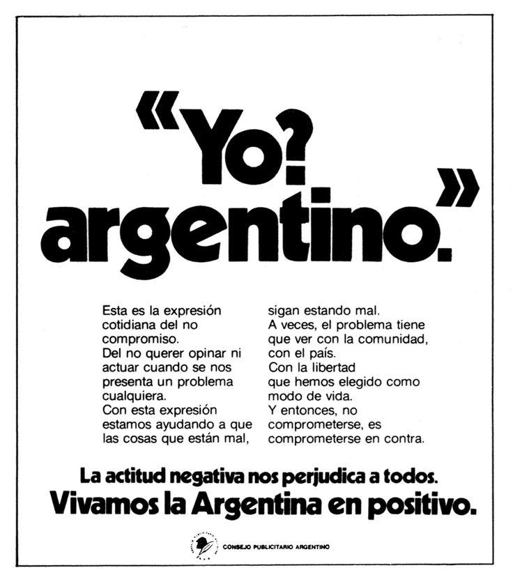 """Argentina en positivo 2""- 1976"