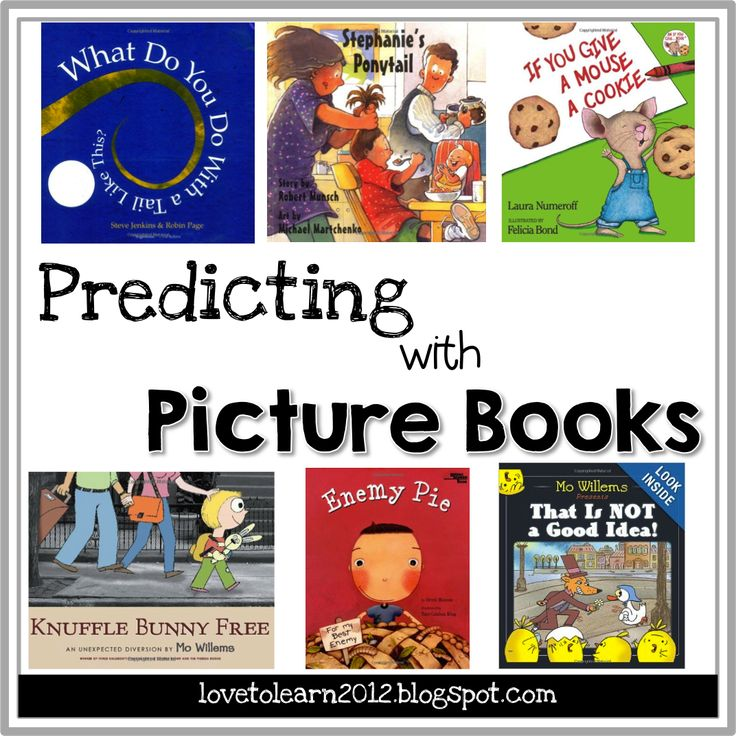 Making Predictions with Picture Books.