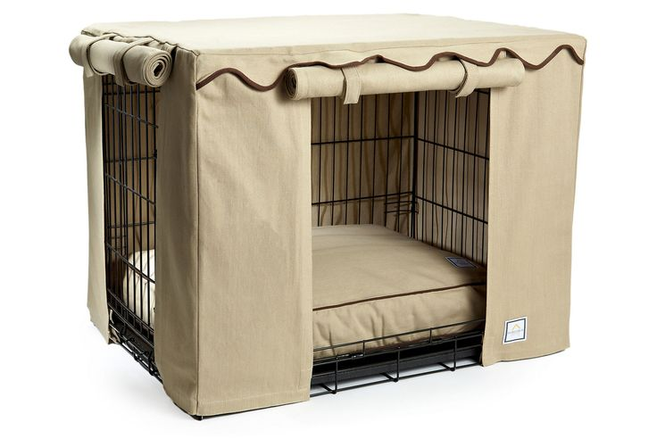 One Kings Lane - Man's Best Friend - Crate Cover, Latte