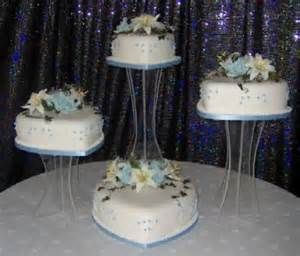 wedding cake on separate stands wedding cakes 5tier seperate stands yahoo image search 23343