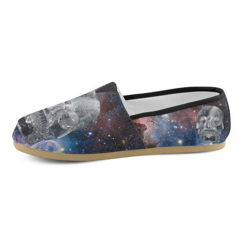 Crystal Skull Women's Casual Shoes (Model 004)