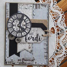 Maskuline kort med Maja Design II.     Jeg har lige lavet endnuen lille serie med maskuline kort. Igen har jeg brugt design papir fra Maja...