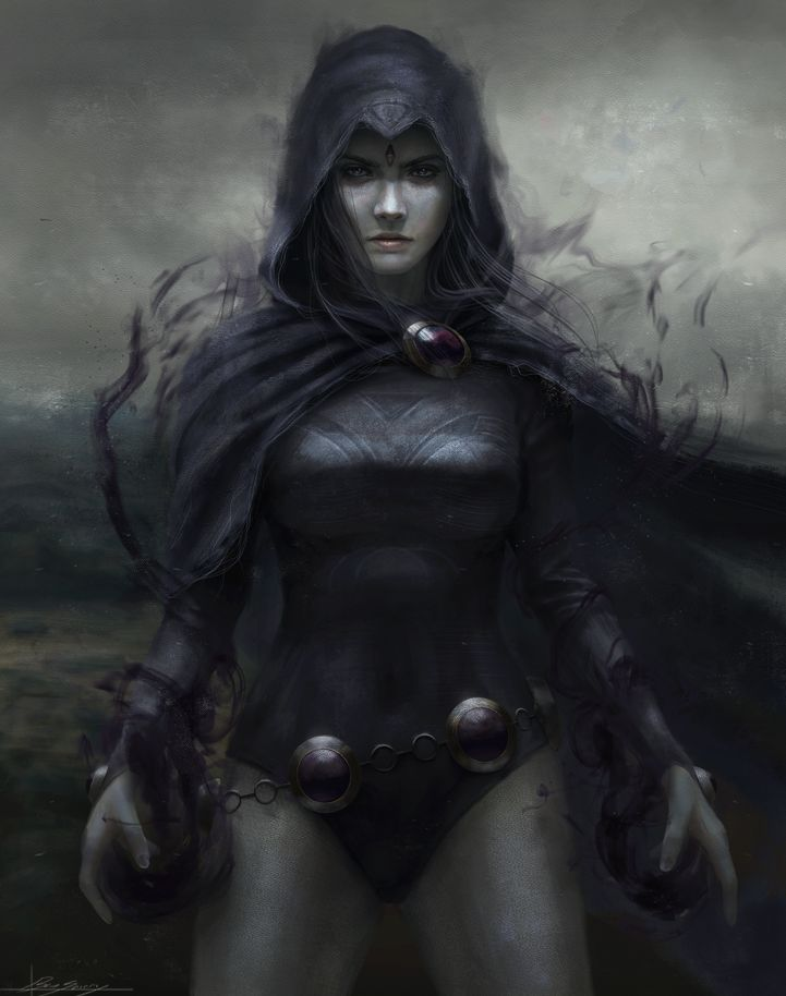 Raven by Dropdeadcoheed on DeviantArt - Visit to grab an amazing super hero shirt now on sale!